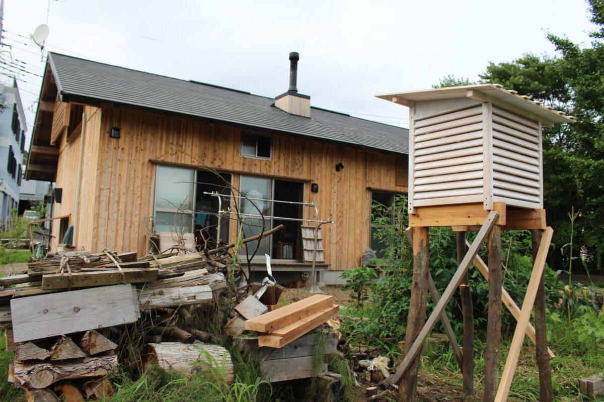 板倉構法住宅の室内温熱環境調査