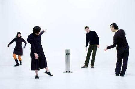 身体の動きで演奏する電子楽器