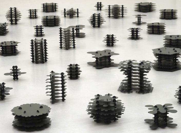 フラクタルを活用した立体造形の研究
