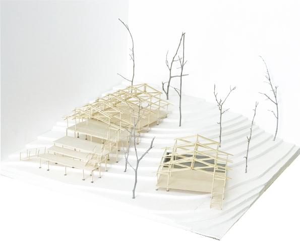 原田 多鶴 森林資源を循環させるための建築 作品「森のラボラトリー」及び研究報告書