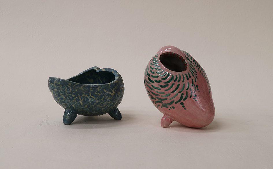 陶磁造形演習Ⅰ・Ⅱ