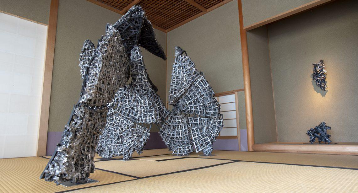 萩美術館茶室