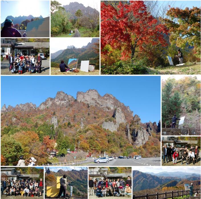 平成26年度洋画野外風景実習(2014年11月9日-15日)